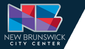 NBCC logo which is a modern design of blues reds and purples reflecting the diversity and creativity found in the City Center.