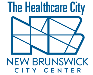 HealthCare City above the NBCC logo complements the wide scope of institutions innovating & redefining health care in NB.